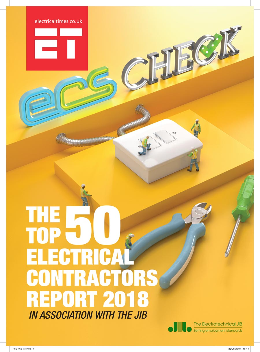 Top 50 Electrical Times London Contractor Contractors Sponsored By The Joint Industry Board Is A Project Dedicated To Determining Leading