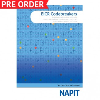 In 2017, NAPIT created the original, industry-first Codebreakers guide to  assist inspectors with coding observations found during Electrical  Installation ...